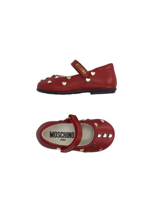 Moschino Kid | Женские Красные Балетки