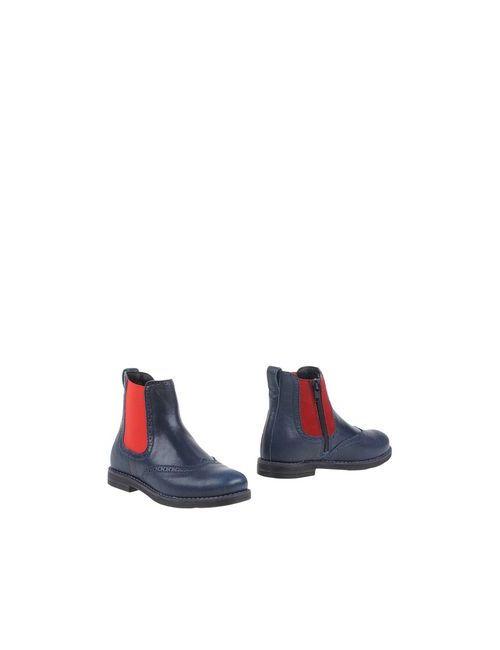 Hogan Junior | Мужские Синие Полусапоги И Высокие Ботинки