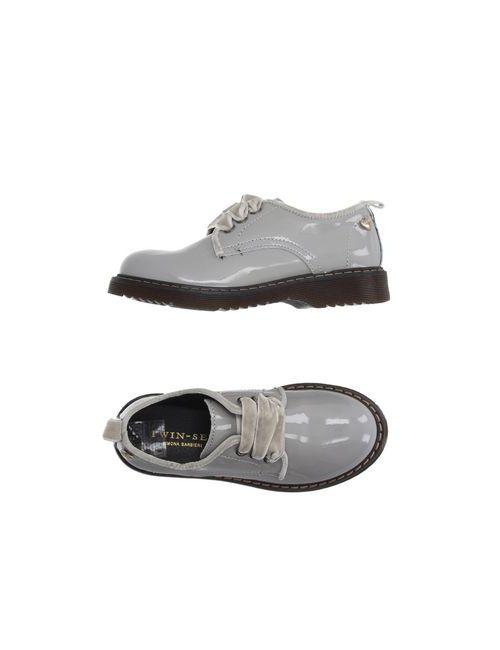 Twin-Set Simona Barbieri | Мужская Серая Обувь На Шнурках
