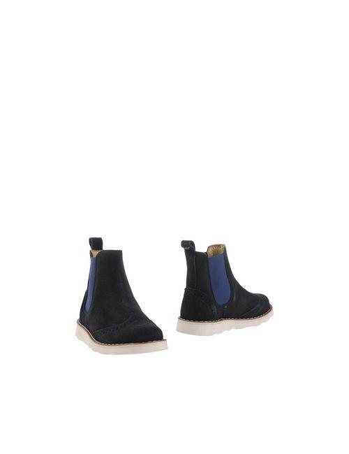 Armani Junior | Мужские Синие Полусапоги И Высокие Ботинки