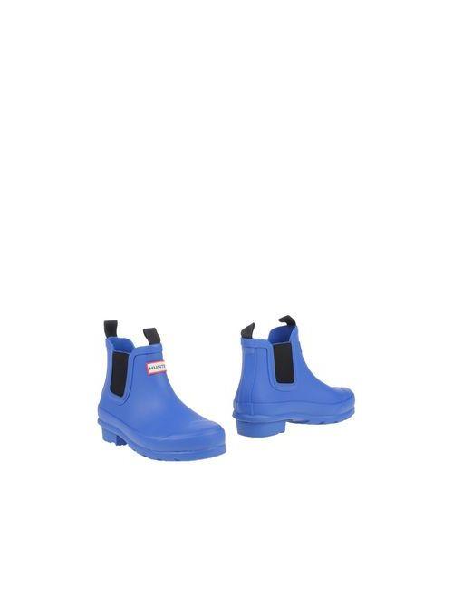 Hunter | Мужские Синие Полусапоги И Высокие Ботинки