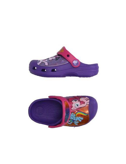 Crocs | Женские Фиолетовые Сандалии