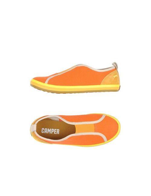 Camper | Мужские Оранжевые Низкие Кеды И Кроссовки