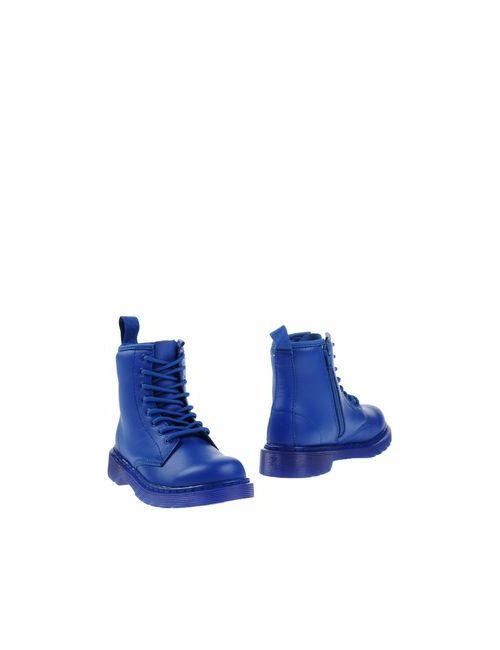 Dr. Martens   Мужские Синие Полусапоги И Высокие Ботинки