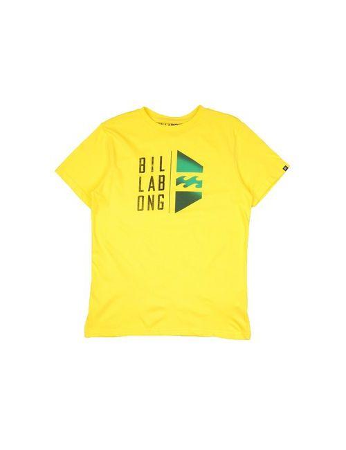 Billabong   Женская Жёлтая Футболка
