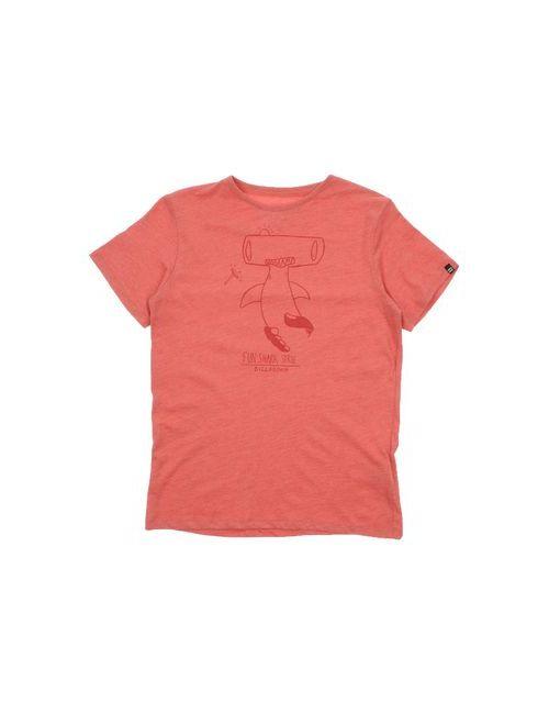 Billabong   Женская Розовая Футболка