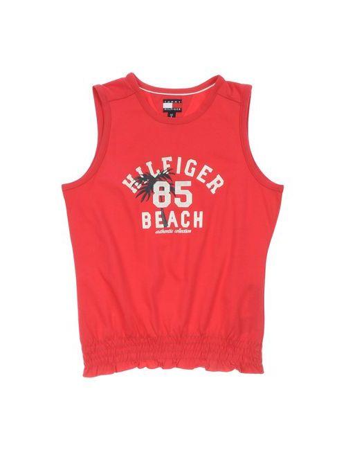 Tommy Hilfiger | Женская Красная Футболка