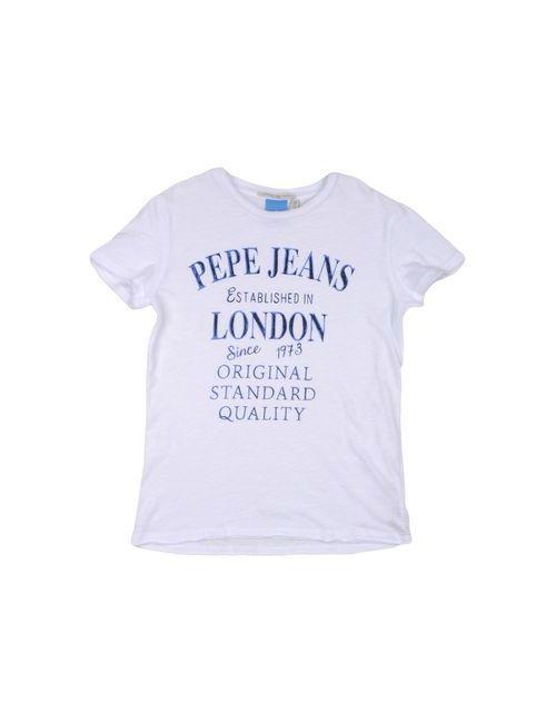 Pepe Jeans | Женская Белая Футболка