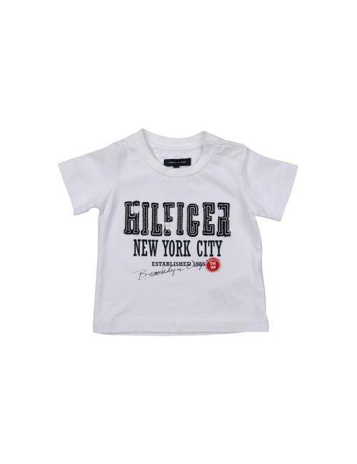 Tommy Hilfiger | Женская Белая Футболка