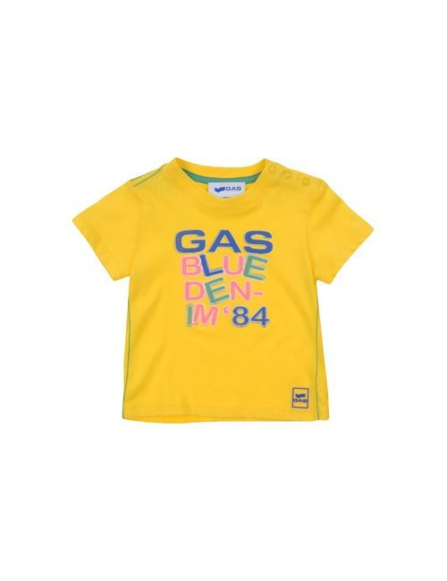 Gas | Женская Жёлтая Футболка