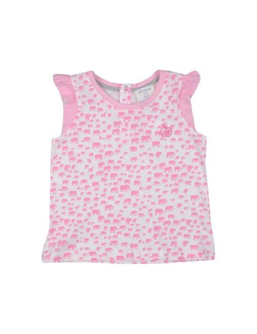 Bonnie Kids | Женская Розовая Футболка