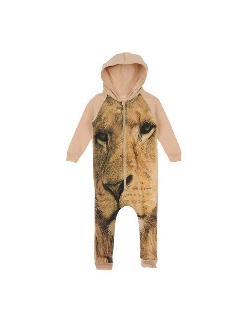 Popupshop   Женский Верблюжий Детский Комбинезон