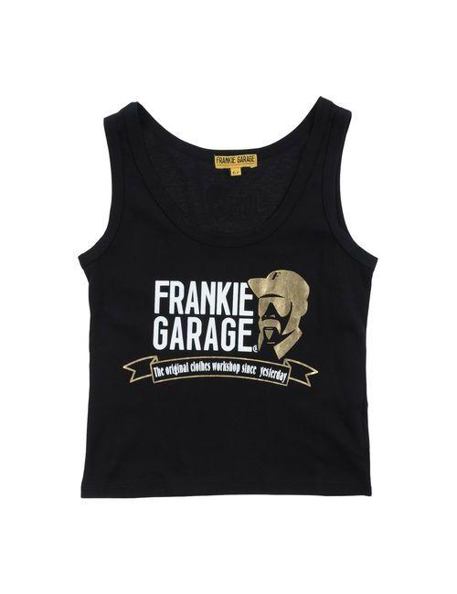Frankie Garage | Женская Чёрная Футболка