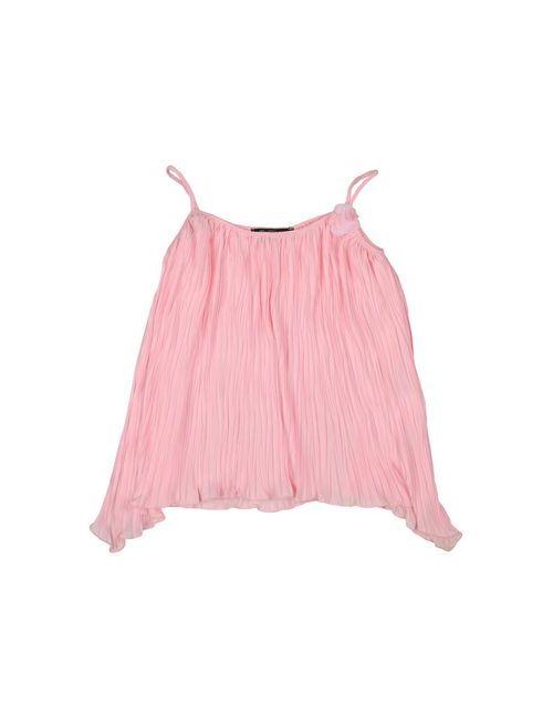 Miss Blumarine Jeans   Женская Розовая Футболка