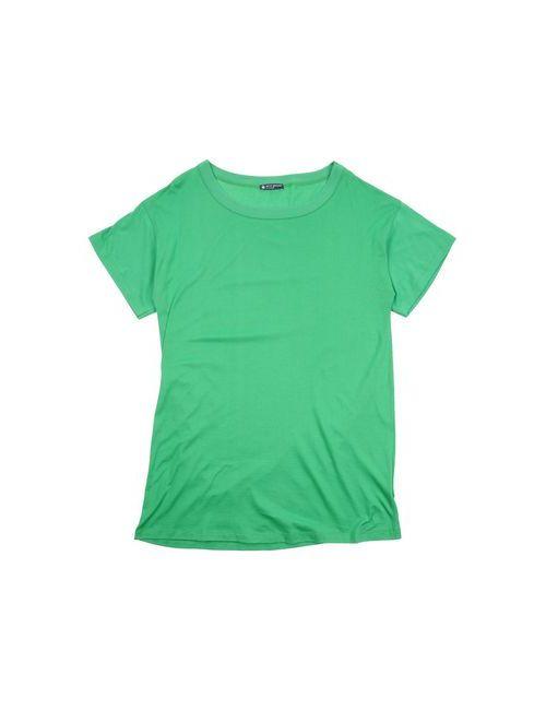 Petit Bateau   Женская Зелёная Футболка