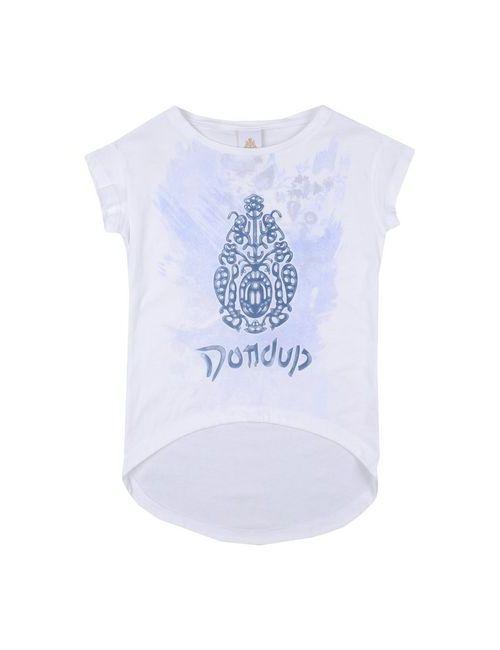 Dondup Dqueen | Женская Белая Футболка