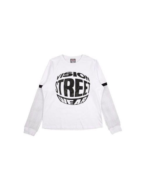 Vision Street Wear | Женская Белая Футболка