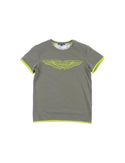 Aston Martin | Женская Зелёная Футболка