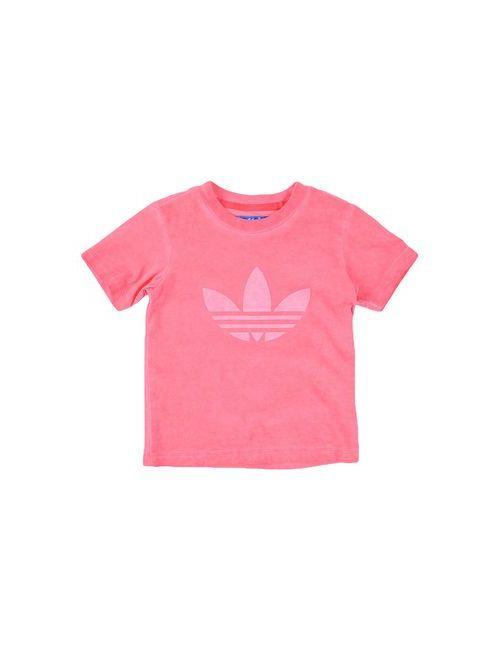 adidas Originals | Женская Розовая Футболка