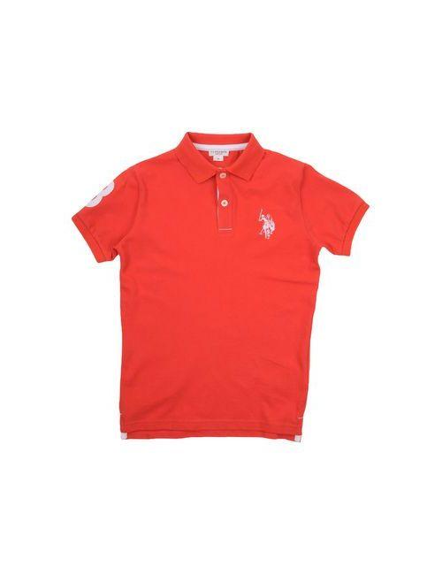 U.S. Polo Assn. | Мужское Красное Поло