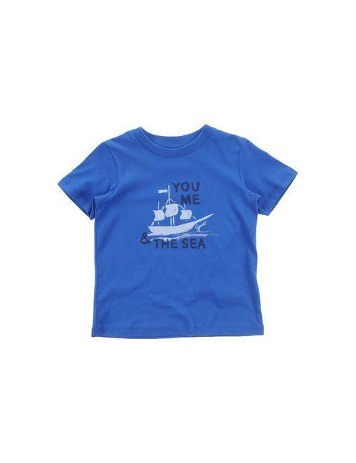 Gant | Женская Синяя Футболка