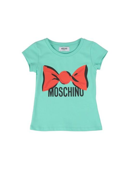 Moschino Kid | Женская Зелёная Футболка