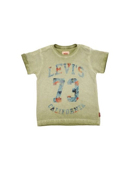 Levi'S Kidswear   Женская Зелёная Футболка