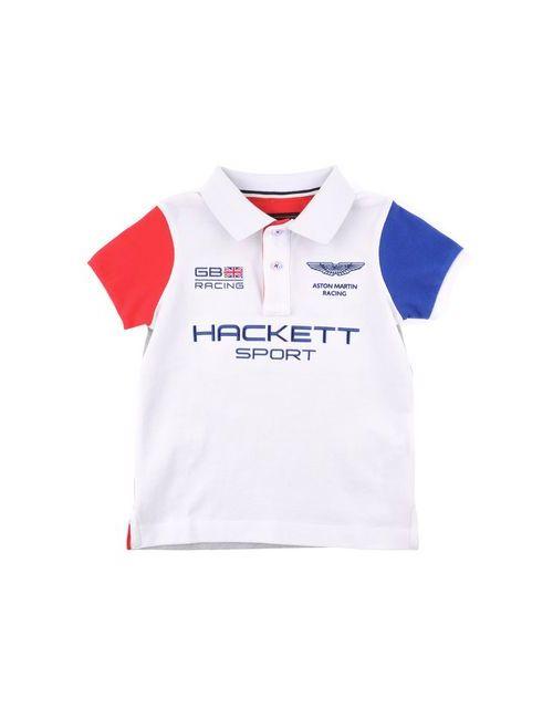 Aston Martin Racing By Hackett | Мужское Белое Поло