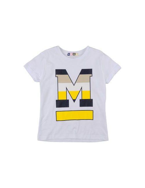 MSGM | Женская Белая Футболка