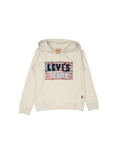 Levi'S Kidswear | Женская Слоновая Кость Толстовка