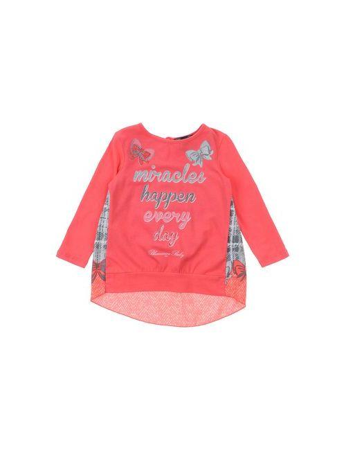 Miss Blumarine Jeans | Женская Розовая Футболка