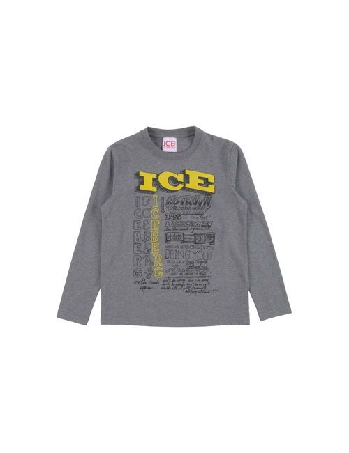 Ice Iceberg Junior   Женская Серая Футболка