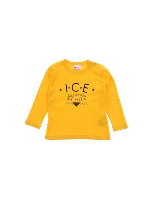 ICE ICEBERG BABY   Женская Жёлтая Футболка