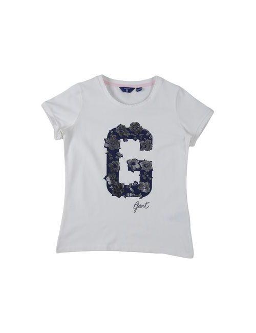 Gant | Женская Белая Футболка