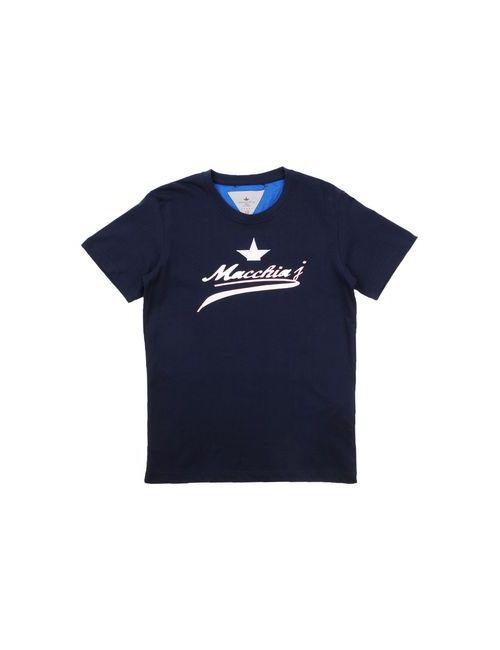 Macchia J | Женская Синяя Футболка