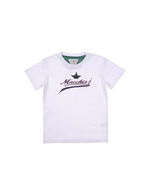 Macchia J | Женская Белая Футболка
