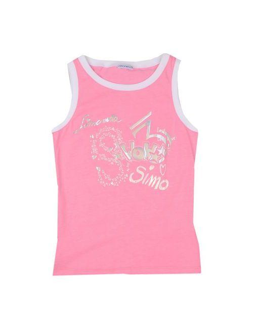 Simonetta | Женская Розовая Футболка