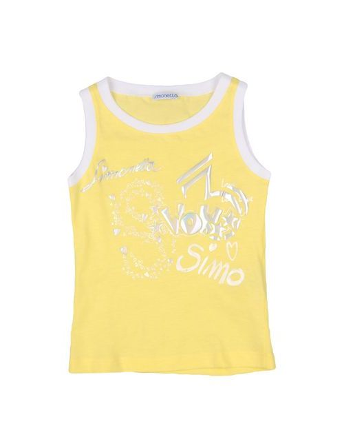 Simonetta | Женская Жёлтая Футболка