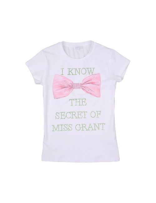 MISS GRANT | Женская Белая Футболка