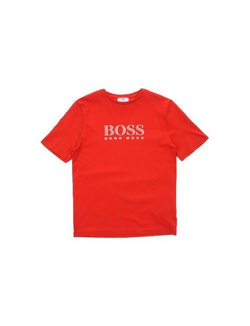 BOSS | Женская Красная Футболка