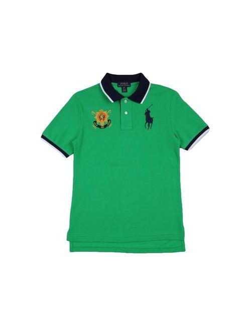 Ralph Lauren | Мужское Зелёное Поло