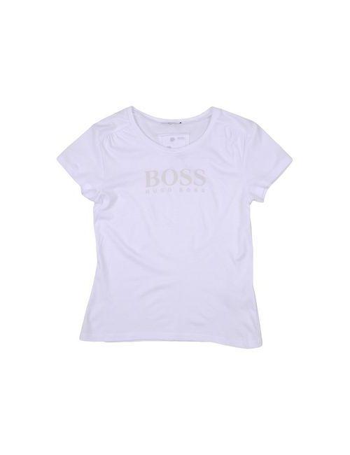 BOSS | Женская Белая Футболка