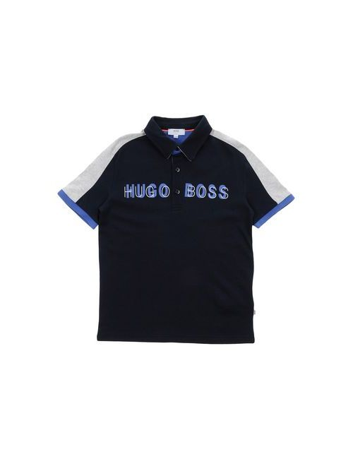 BOSS | Мужское Синее Поло
