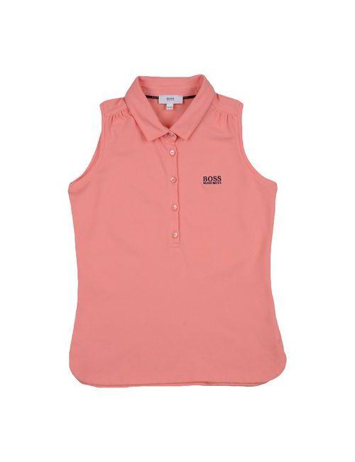 BOSS | Мужское Розовое Поло