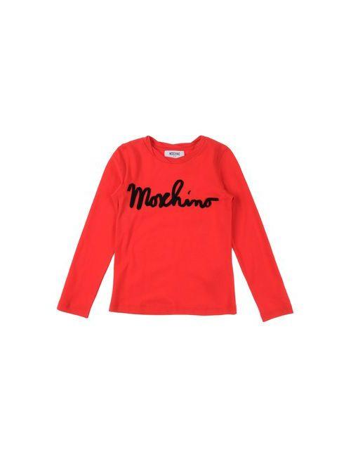 Moschino Kid | Женская Красная Футболка