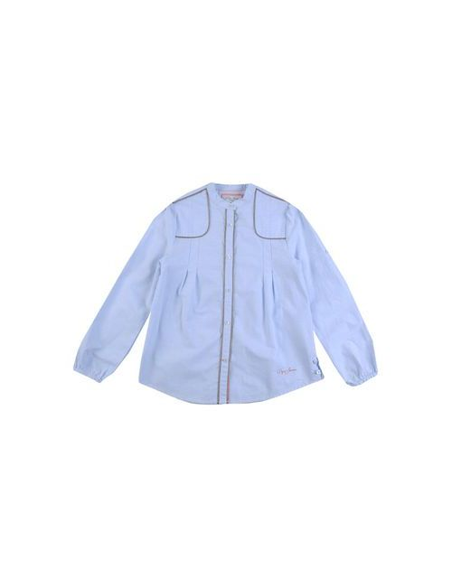 Pepe Jeans | Женская Голуба Pубашка