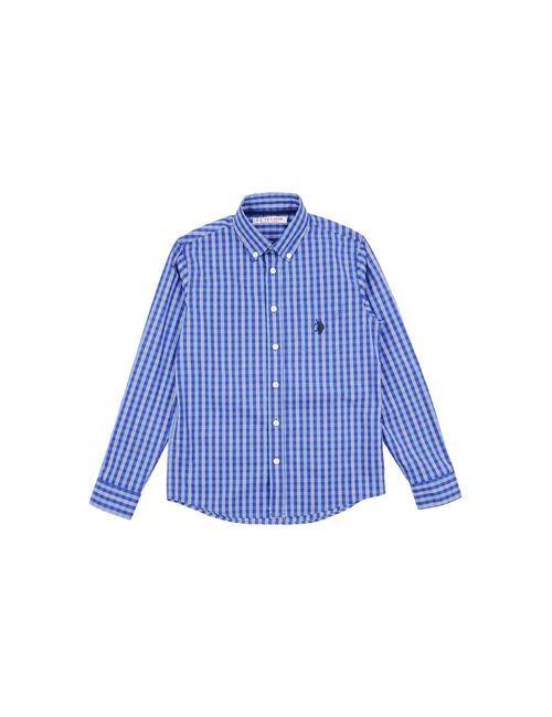 U.S. Polo Assn. | Женская Синяя Pубашка