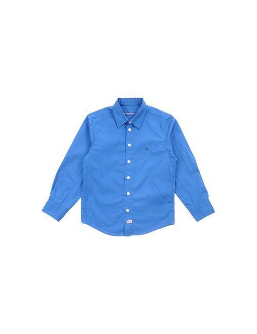 Cotton Belt | Женская Синяя Pубашка