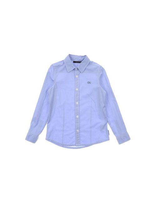 Calvin Klein Jeans | Женская Голуба Pубашка