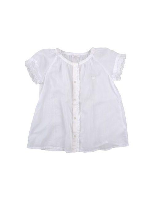 Gucci | Женская Белая Pубашка